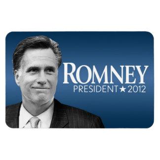 Mitt Romney - foto blanco y negro Imán Flexible