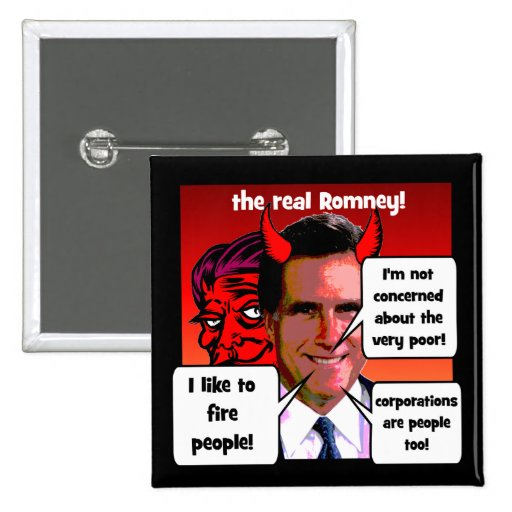 Mitt Romney gaffs Pins