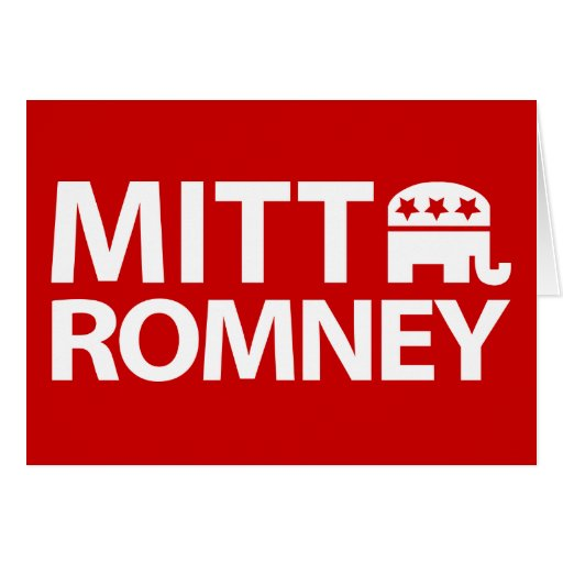 Mitt Romney GOP Card