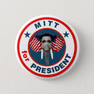 Mitt Romney GOP Mascot Button