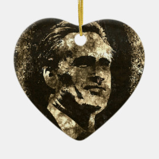 Mitt Romney Grunge Art Portrait Christmas Ornament