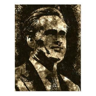 Mitt Romney Grunge Art Portrait Postcard