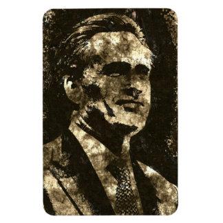 Mitt Romney Grunge Art Portrait Rectangular Photo Magnet