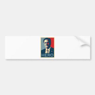 Mitt Romney - Hero Bumper Sticker