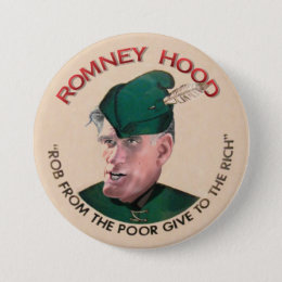Mitt Romney Hood 2012 Button