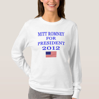 Mitt Romney Hooded T-Shirt