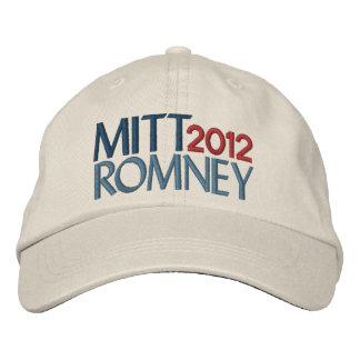 Mitt Romney in 2012 Baseball Cap