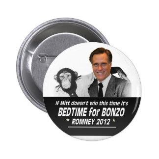 Mitt Romney in 2012 Pinback Button