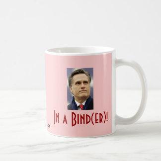 Mitt Romney - In a Bind(er)! Coffee Mug