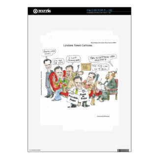 Mitt Romney In Therapy Funny Tees Cards Gifts Etc iPad 2 Skin