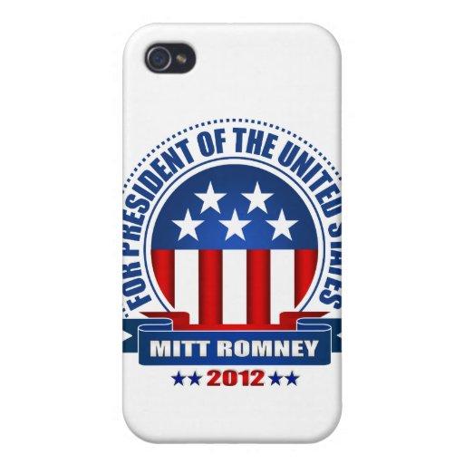 Mitt Romney iPhone 4/4S Funda