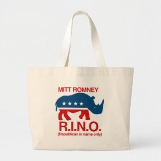 Mitt Romney is a RINO.png Tote Bag