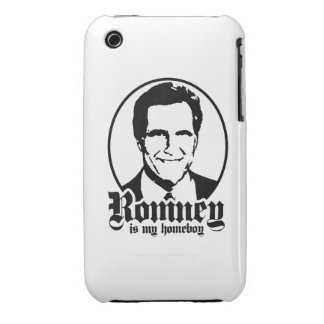 MITT ROMNEY IS MY HOMEBOY iPhone 3 COVERS