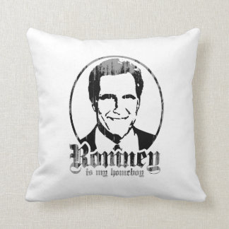 MITT ROMNEY IS MY HOMEBOY.png Pillows