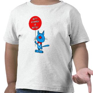 Mitt Romney is nuts! Tee Shirt