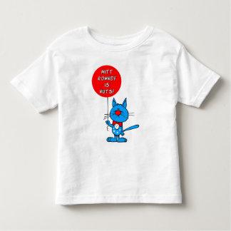 Mitt Romney is nuts! Toddler T-shirt