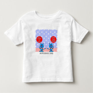 Mitt Romney is nuts vote for Obama Toddler T-shirt