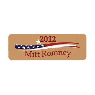Mitt Romney Labels