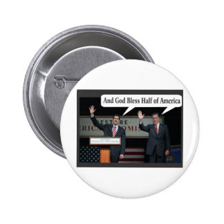 Mitt Romney le odia voto del 47 para Barack Obama Pins