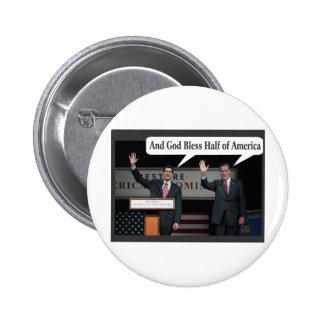 Mitt Romney le odia voto del 47% para Barack Obama Pin Redondo De 2 Pulgadas