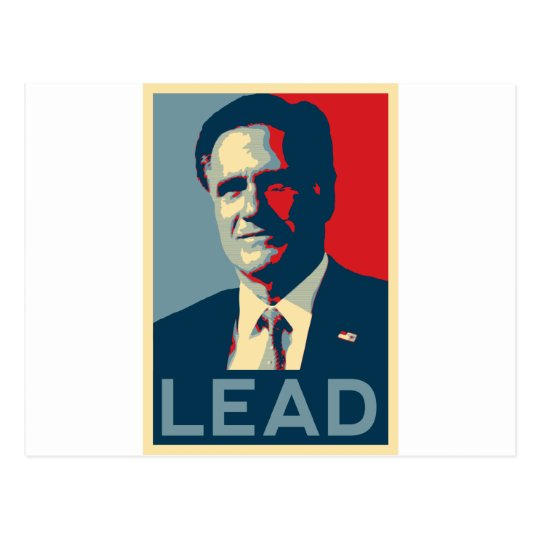 Mitt Romney - Lead Postcard
