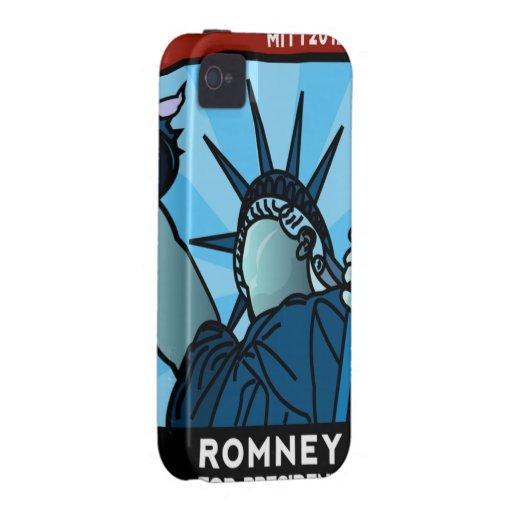 Mitt Romney Liberty iPhone 4 Case