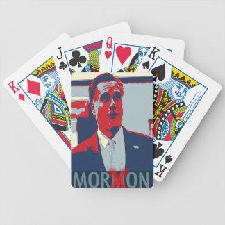 Mitt Romney los naipes mormones del Imbécil Barajas De Cartas