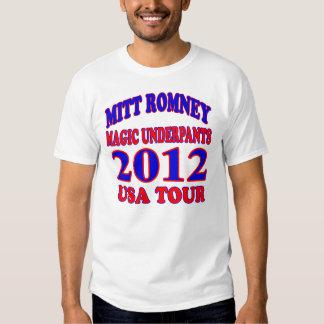 Mitt Romney MAGIC UNDERPANTS Tee Shirts