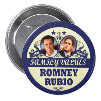Mitt Romney & Marco Rubio Pin