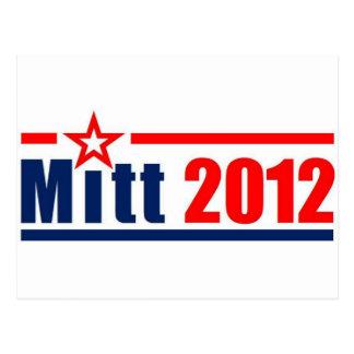 """Mitt Romney """"Mitt"""" 2012 Postcard"""