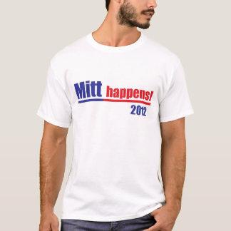 """Mitt Romney """"Mitt Happens"""" T-Shirt"""