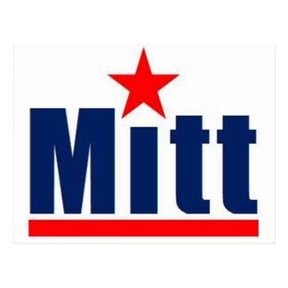 """Mitt Romney """"Mitt"""" Postcard"""