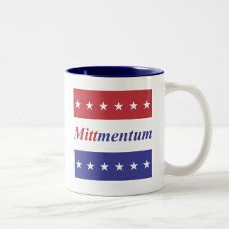 """Mitt Romney """"Mittmentum"""" Mug"""