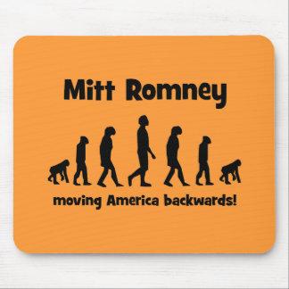 Mitt Romney moving America backwards Mouse Pad
