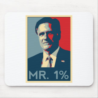 Mitt Romney - Mr. 1% Mousepad