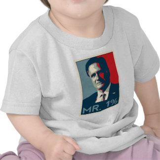 Mitt Romney - Mr. 1% Tee Shirt