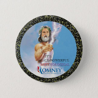Mitt Romney Mythology Pinback Button