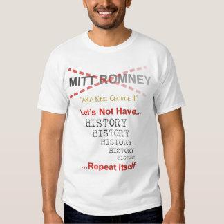 Mitt Romney no deja la repetición sí mismo de la Remeras