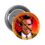 Mitt Romney no puede ser de confianza Pin