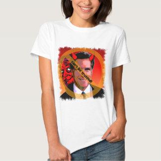 Mitt Romney no puede ser de confianza Remeras
