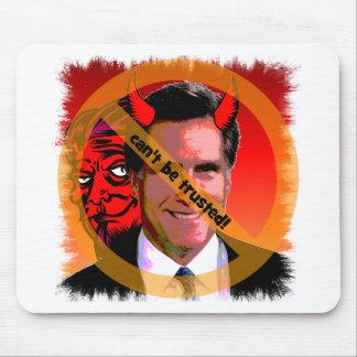 Mitt Romney no puede ser de confianza Tapetes De Ratón