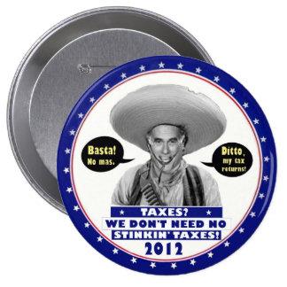 Mitt Romney No Taxes Button