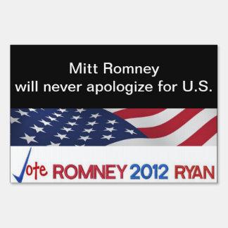 Mitt Romney nunca se disculpará por muestra de los