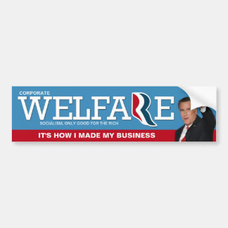 Mitt Romney on how he made his millions Car Bumper Sticker