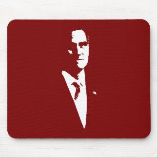 Mitt Romney Outline Mouse Pad