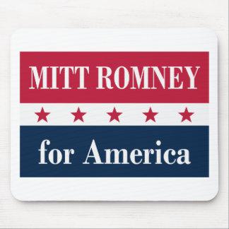 Mitt Romney para América Mouse Pads