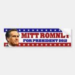 Mitt Romney para el presidente 2012 Etiqueta De Parachoque