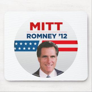 Mitt Romney para el presidente 2012 de los E.E.U.U Alfombrillas De Ratones