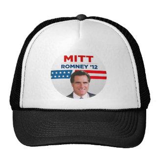 Mitt Romney para el presidente 2012 de los E.E.U.U Gorras