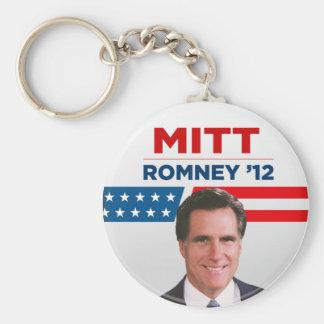Mitt Romney para el presidente 2012 de los E E U U Llaveros